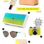 Tech Trend: Neon & Neutral