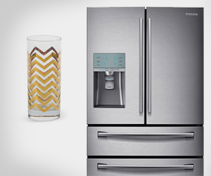 Better Together: Samsung Refrigerator and HighBall Glasses