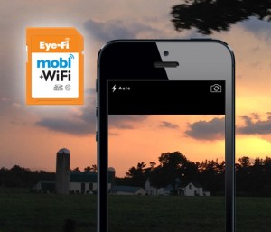 Eye-Fi Mobi Wifi Memory Card