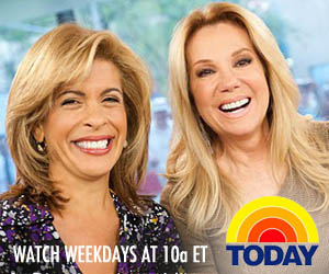 Watch Today Show with Kathie Lee and Hoda weekdays at 10a ET on NBC