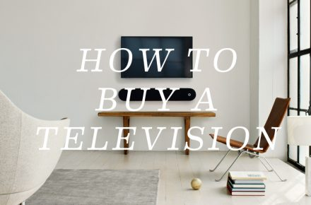 How to buy a television