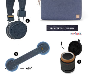 Tech Trend: Denim