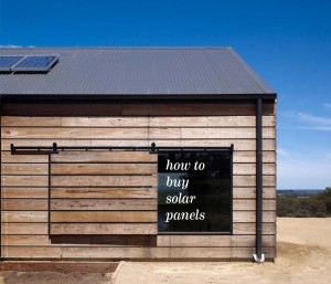 Buying solar panels