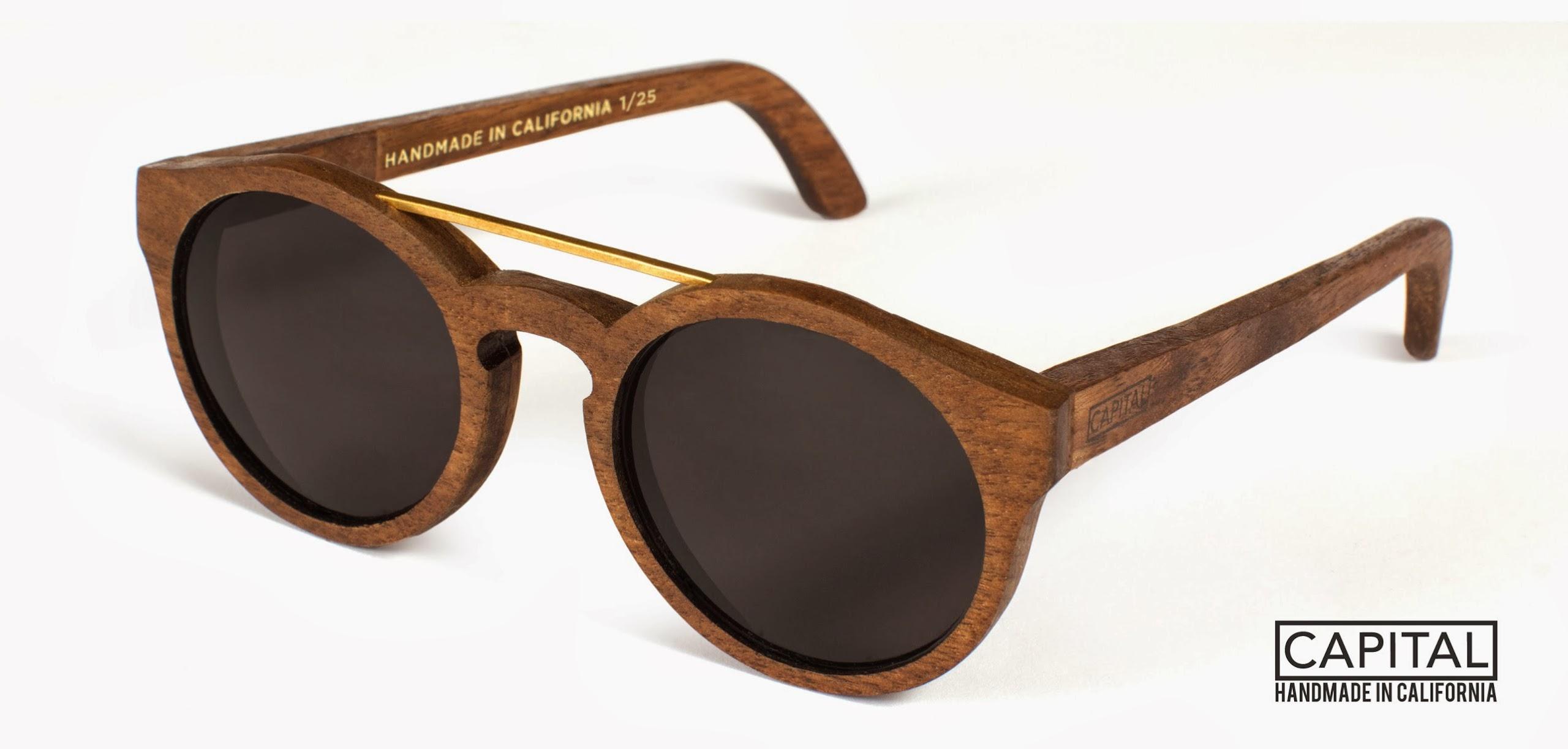 Wood Frame Eyeglasses Are Gaining More : Tech Trend: Wood Carley K.