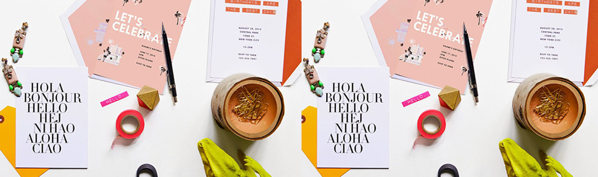 Chic Correspondence: J. Crew & Paperless Post