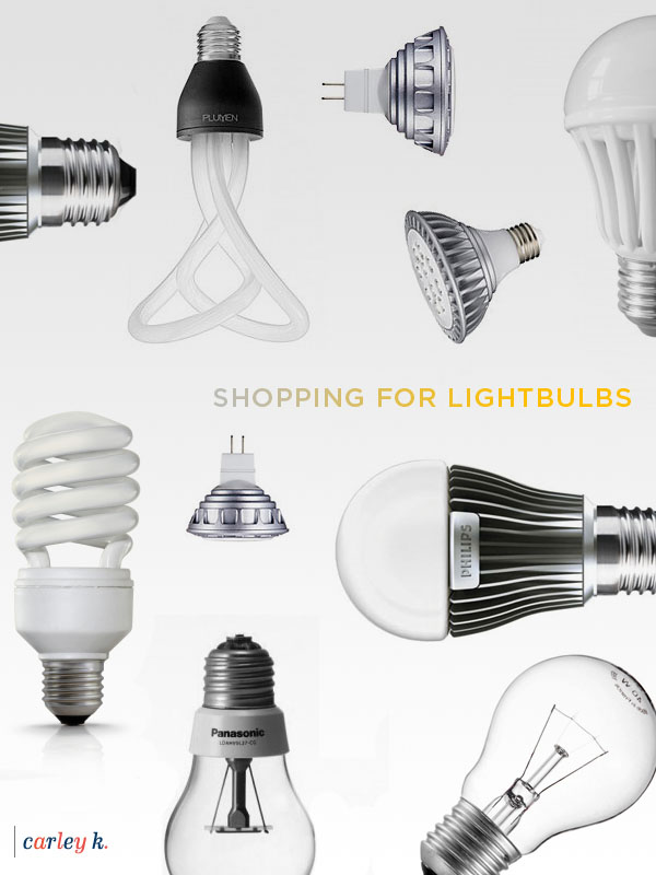 Shopping for lightbulbs