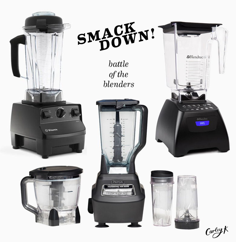 Blender Smackdown: Vitamix vs. Blendtec vs. Ninja