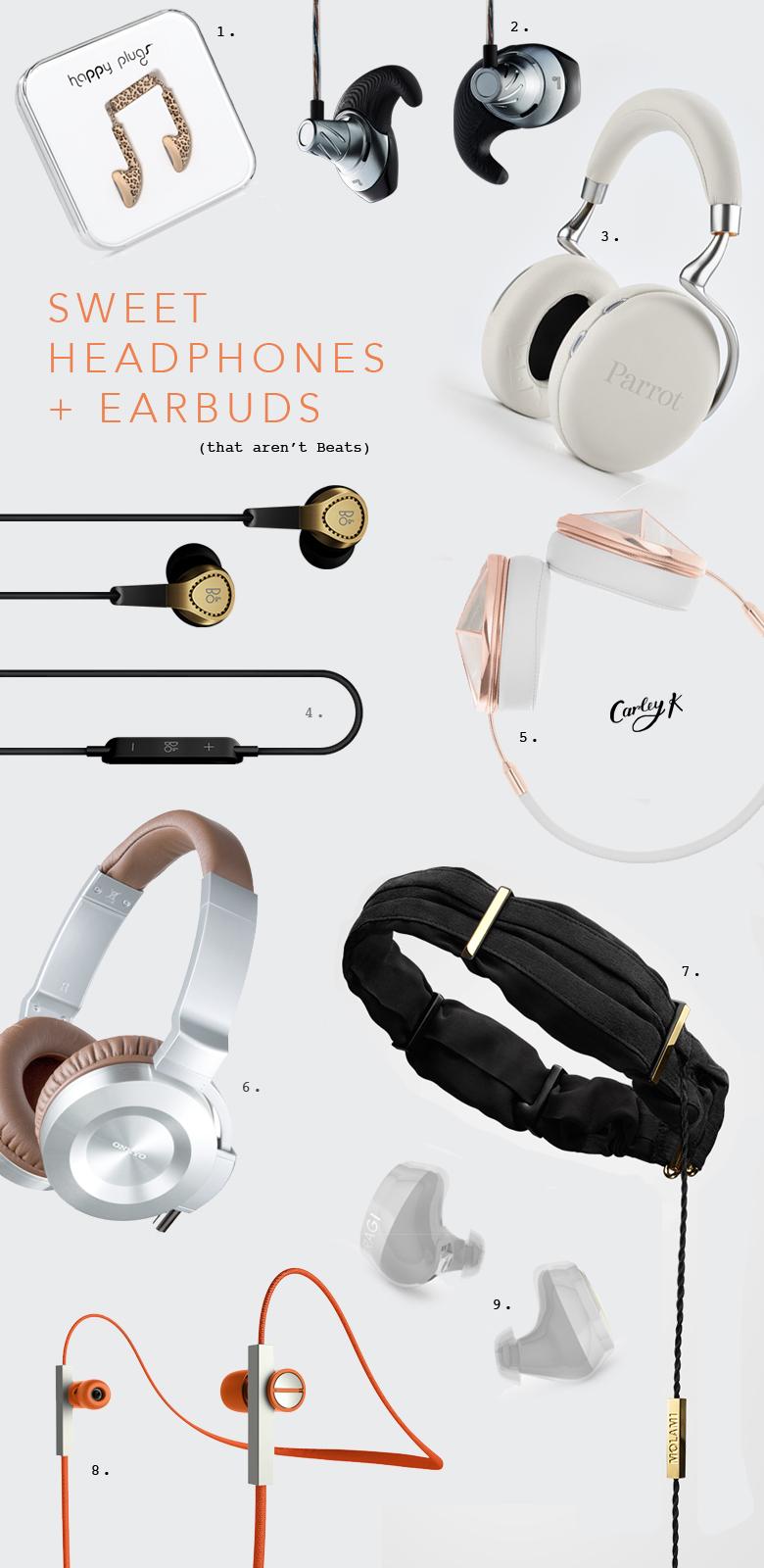 Beautiful Headphones & Earbuds