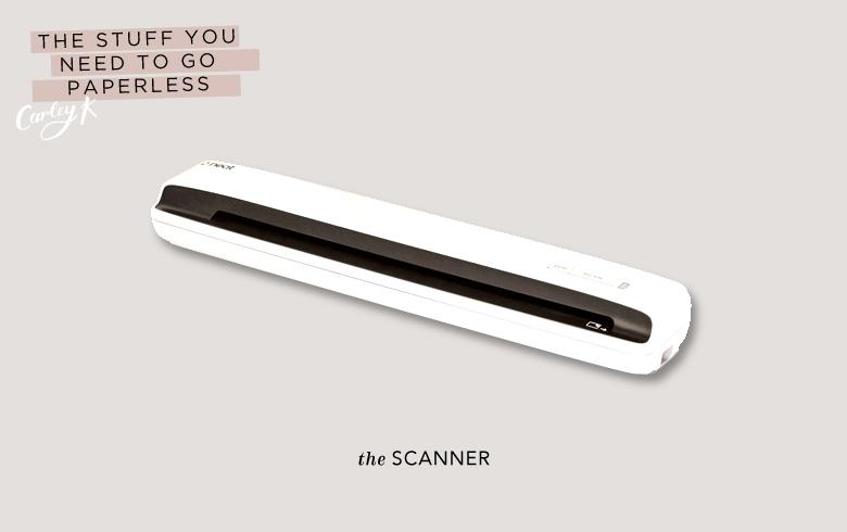 Paperless: Scanner