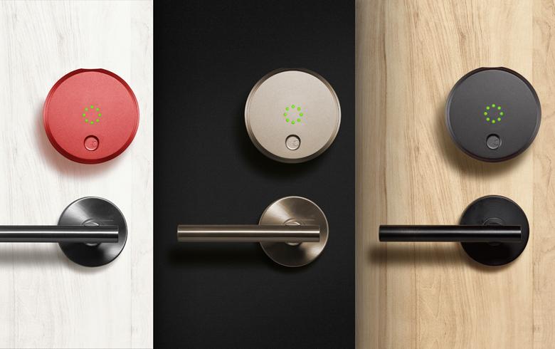 smart locks: august