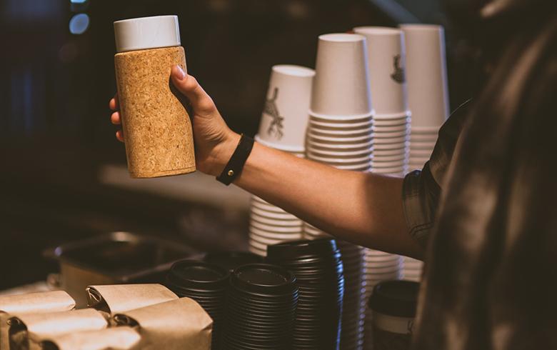 cortica mug: Coffee gadgets