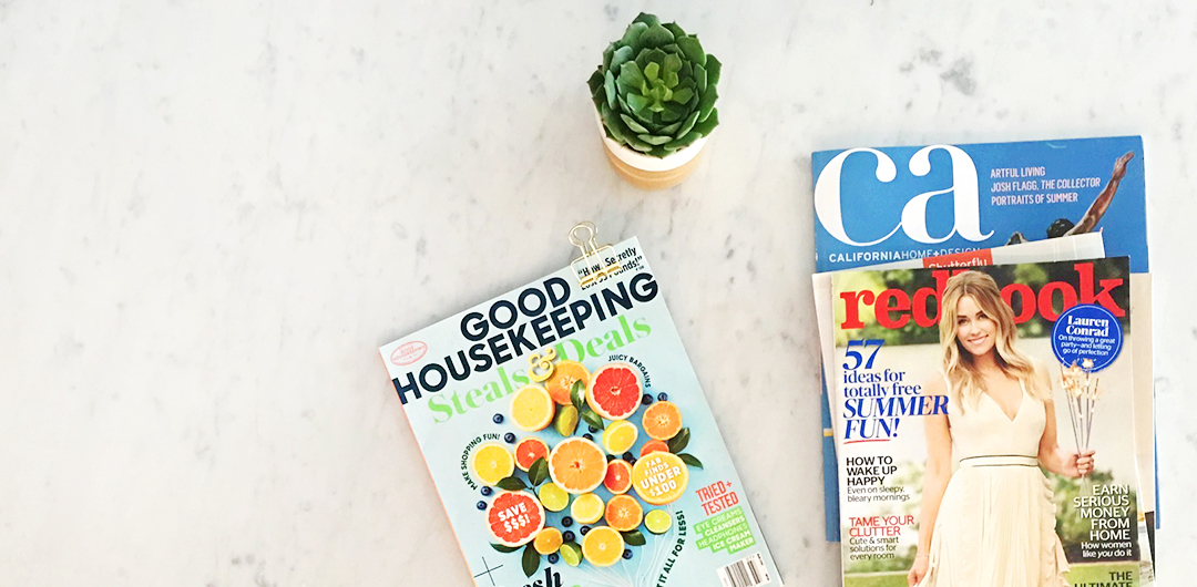 Magazines: Redbook & Good Housekeeping