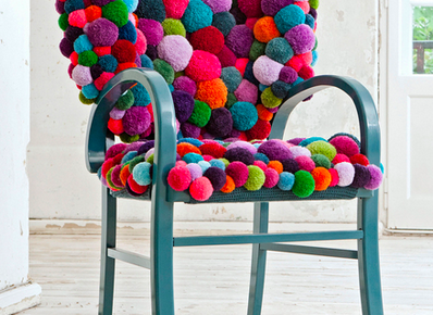 Pompon Chair No.1