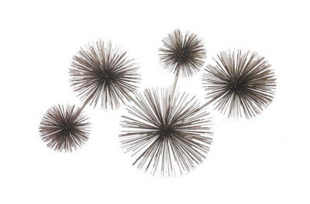 Pom Pom Metal Wall Sculpture