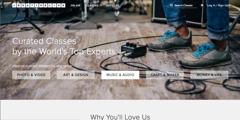 Creative Live: Online Classes
