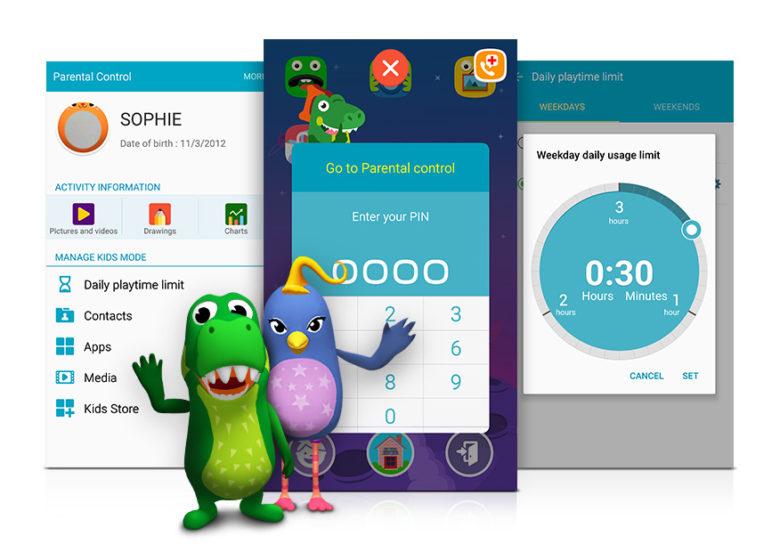 parental controls: Samsung Kids Mode