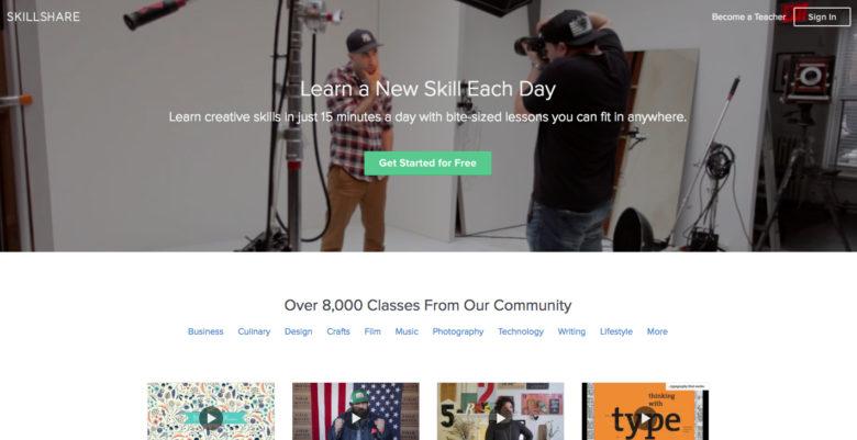Skillshare: Online classes