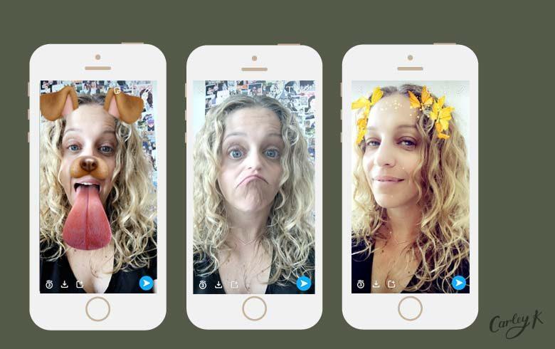 Snapchat Filters: Selfie Filters