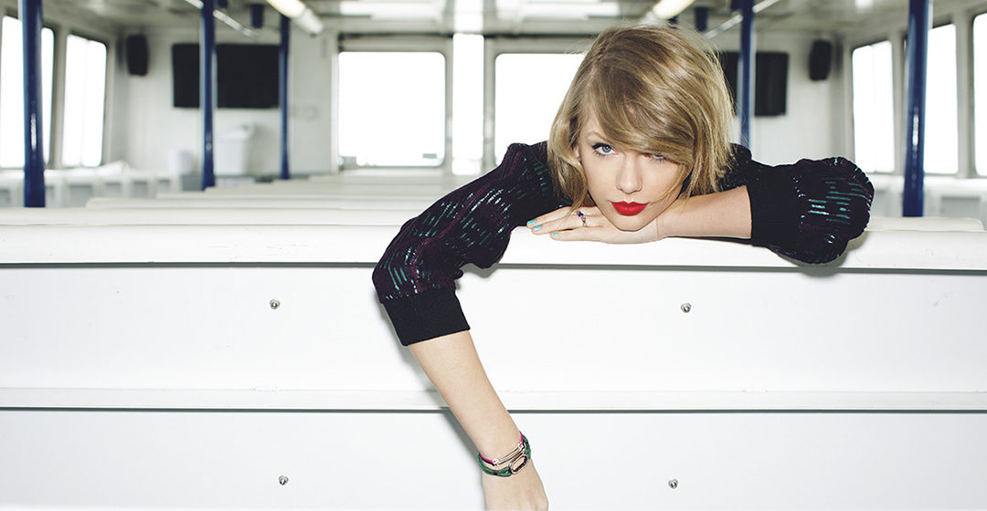Streaming music apps: Taylor Swift