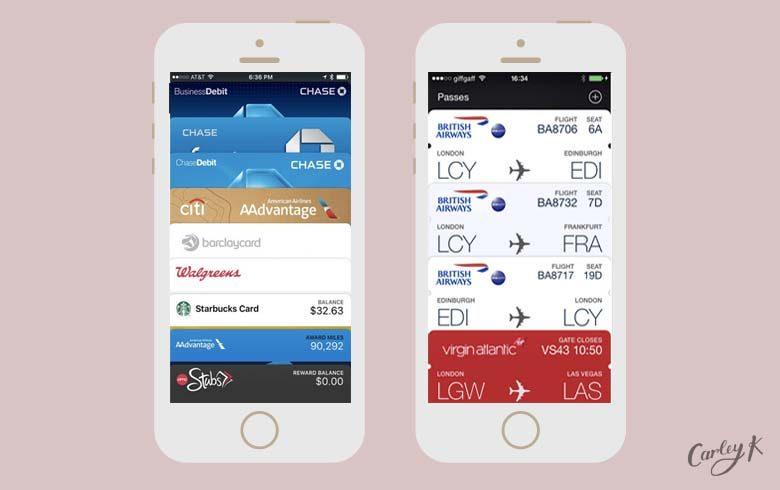 Apple wallet essential apps