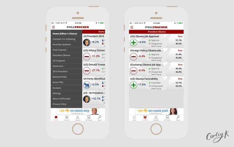 election apps: Polltracker