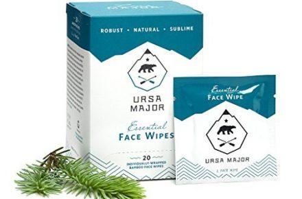 Ursa Major natural face wipes