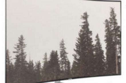 "Samsung KS9500 65"" curved HDTV"