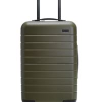 Away Smart carry-on suitcase in Argania Green