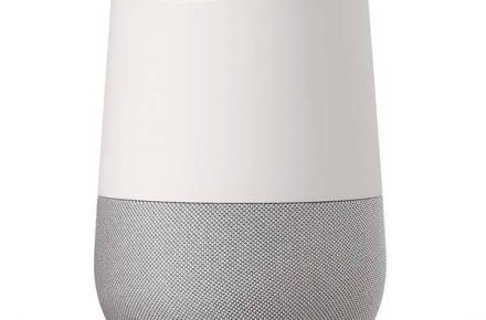 Google Home voice-activated assistant
