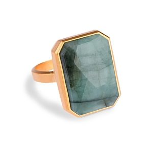Ringly smart ring in Emerald