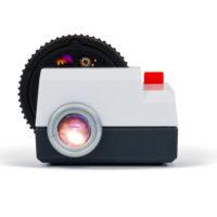 Projecteo mini slideshow projector