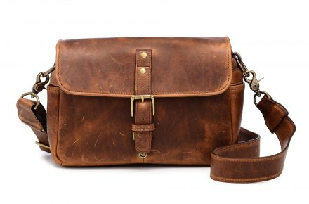 Ona Bags leather Bowery camera bag in antique cognac