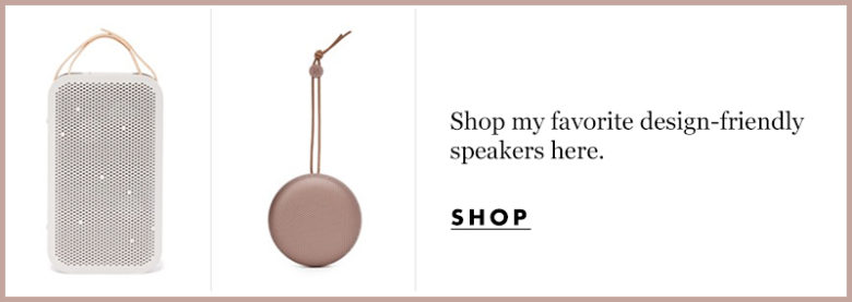 Shop Design-Friendly Speakers here