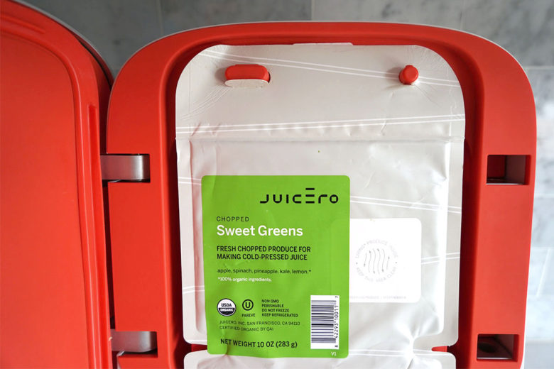 Juicero Fresh Pressed Juice at home