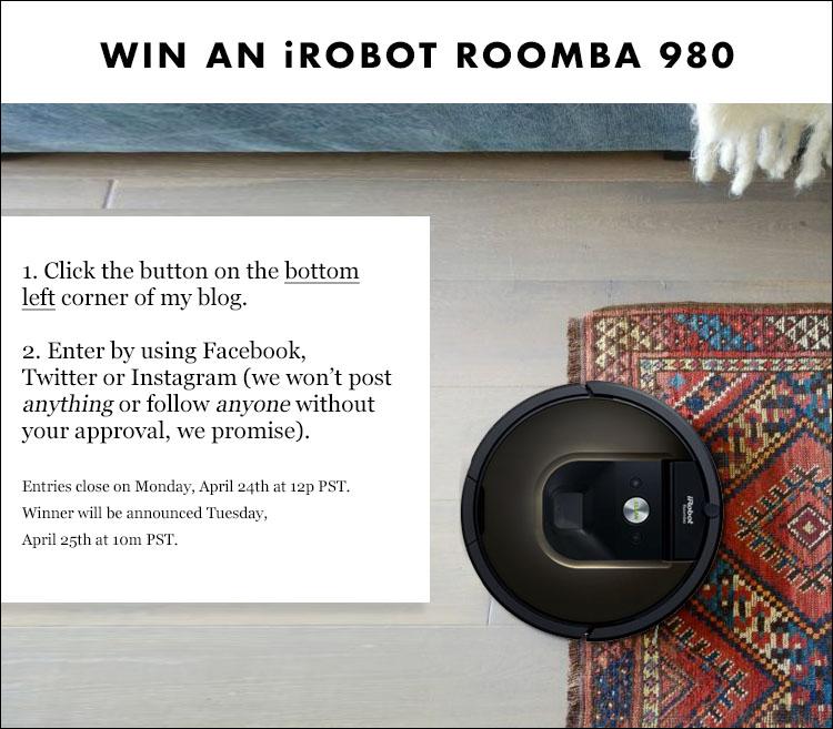 iRobot Giveaway