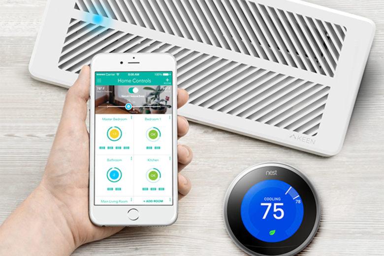 energy efficient home: Keen Smart Vent