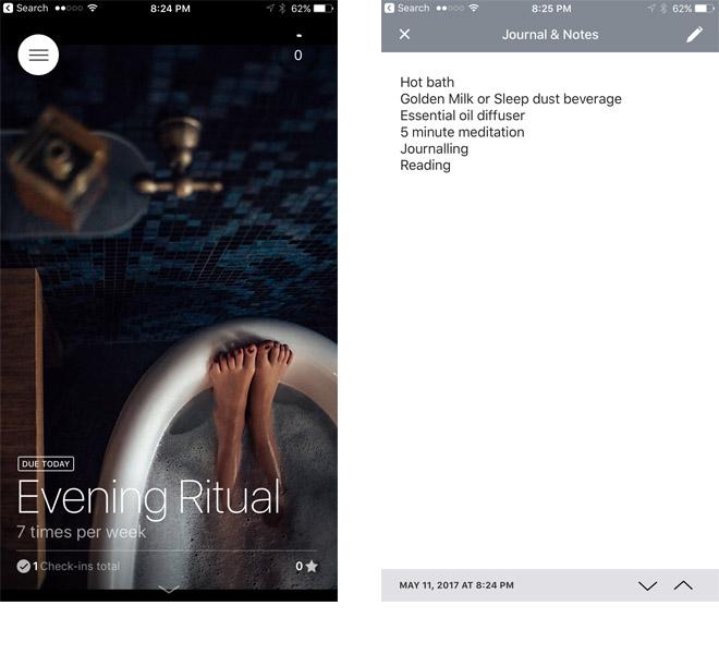 Today App: habit forming
