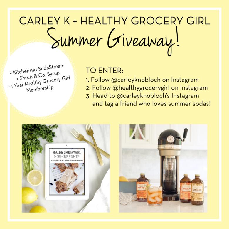 Summer @HealthyGroceryGirl Giveaway