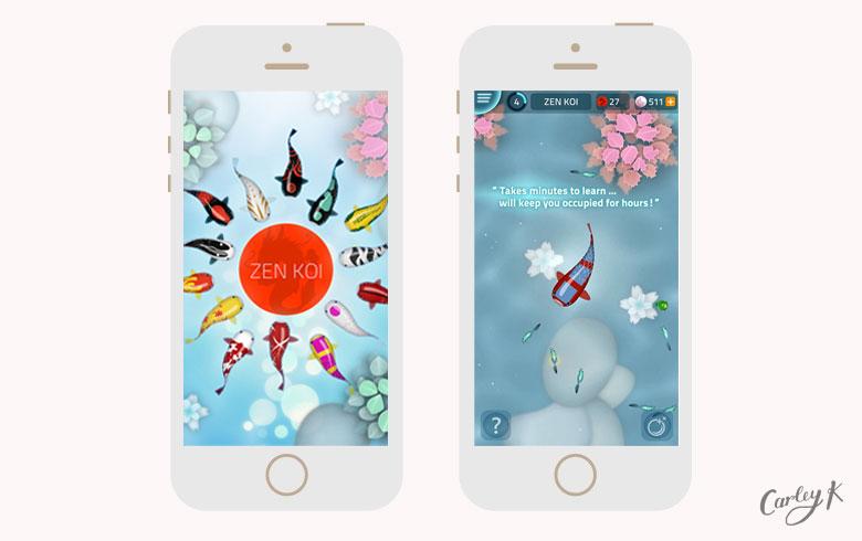Zen Koi: Relaxing iPhone games