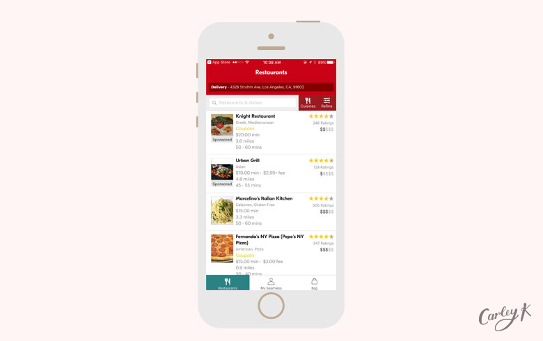 Food Delivery Apps: Seamless