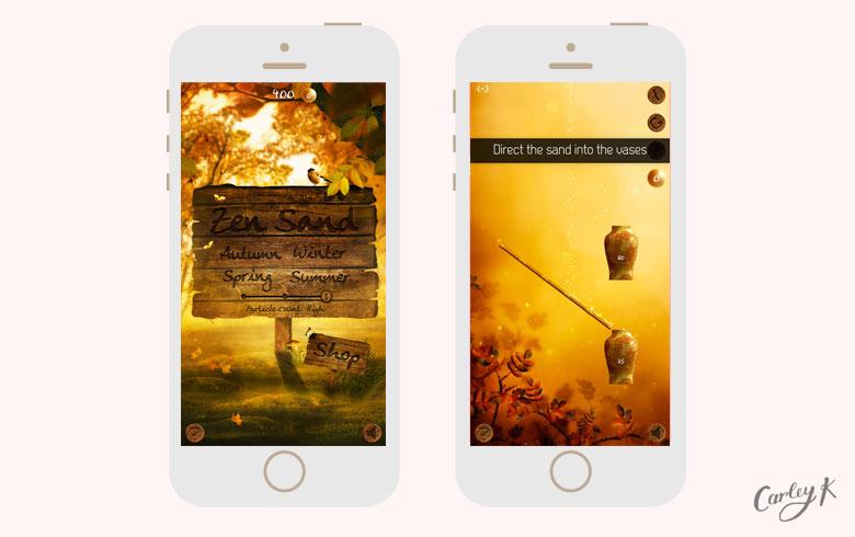 Zen Sand: Relaxing iPhone games