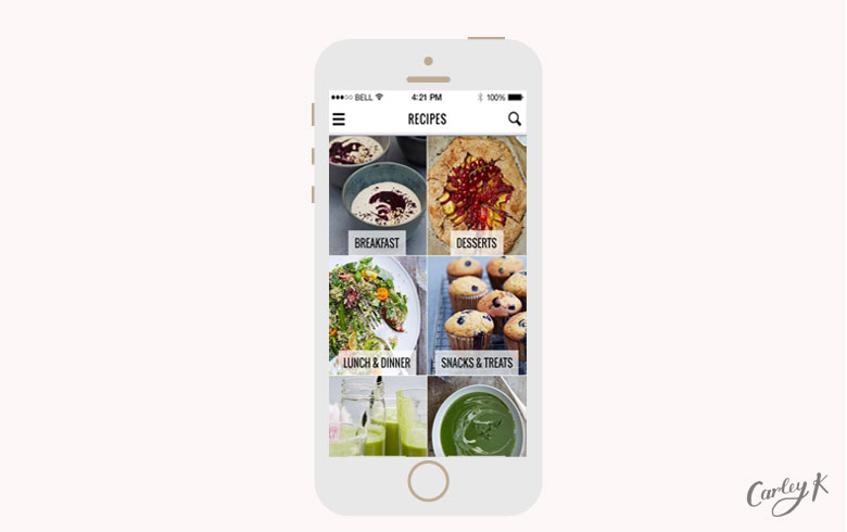 healthy eating apps: Honestly Healthy