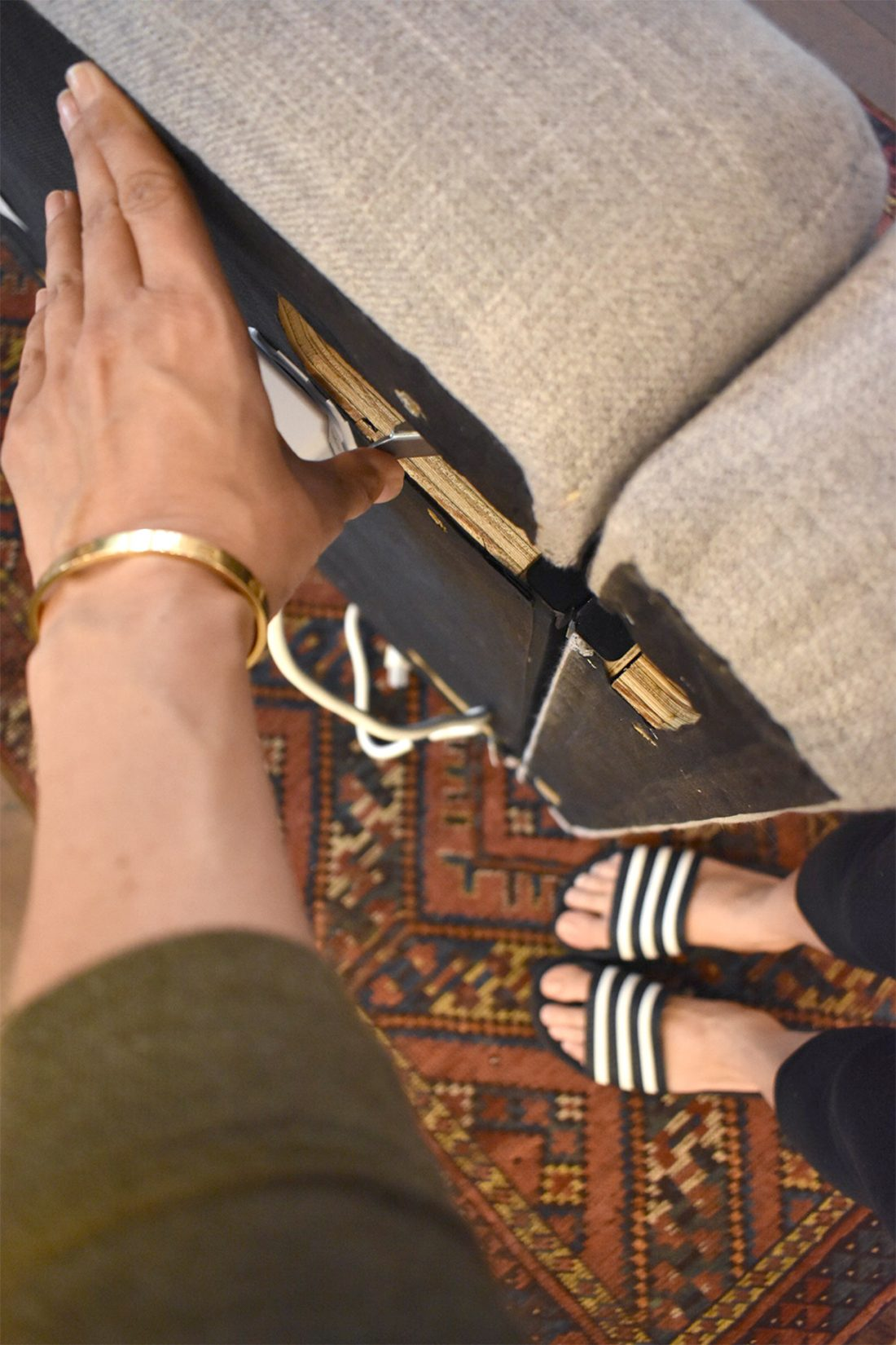 Burrow Sofa: Putting it together