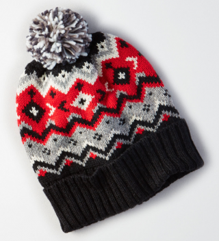 American Eagle Outfitters Pom Pom Beanie