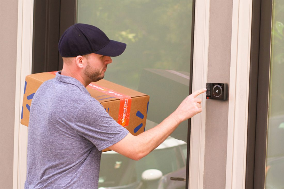 August & Walmart: In-Home Delivery