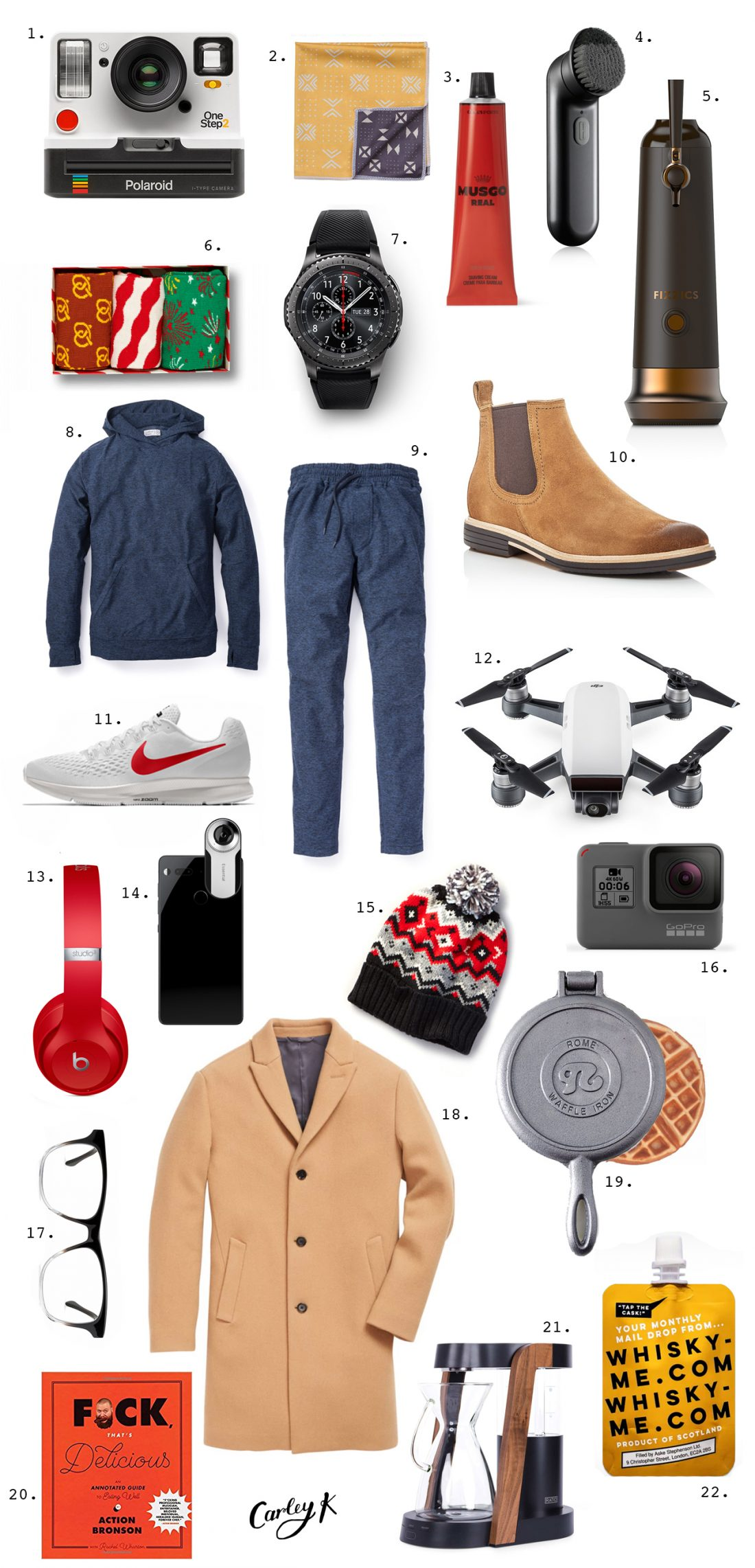Holiday Gift Guides: Gifts for the Guys