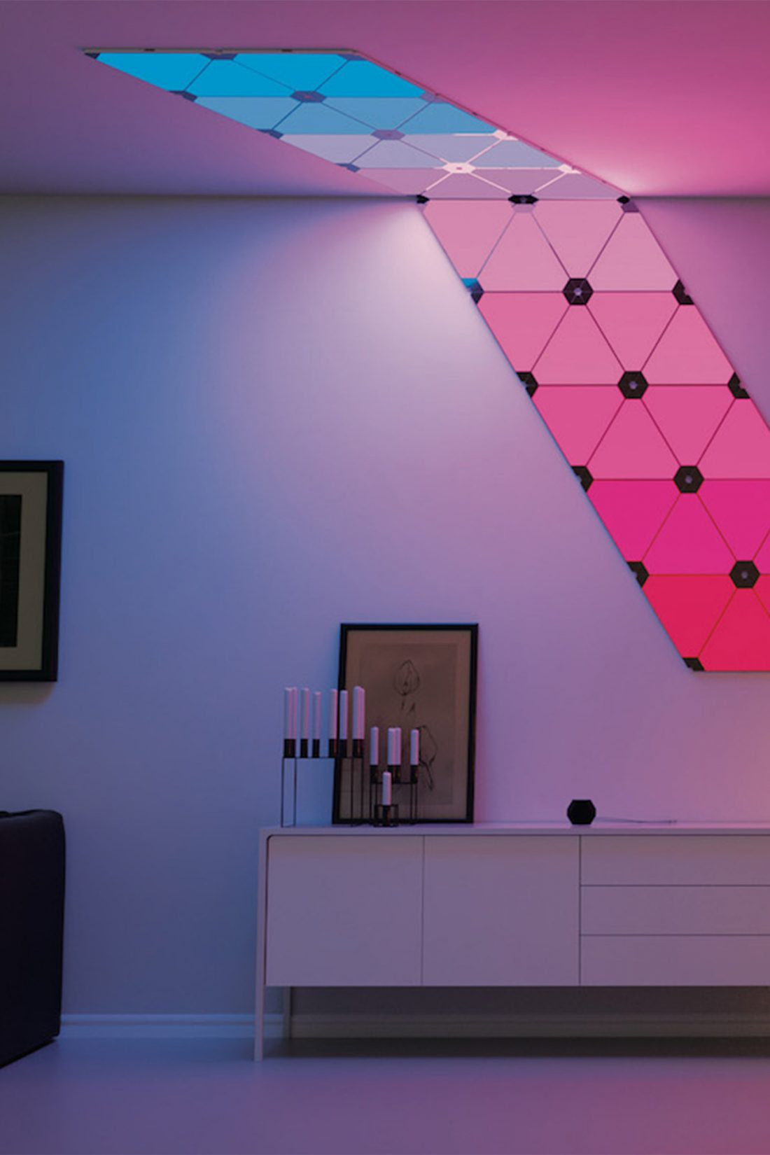 Nanoleaf Aurora: Smart Lighting