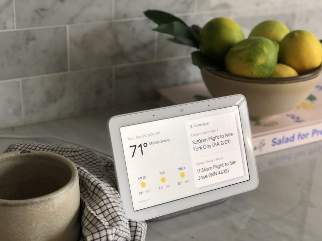 Smart Home Gifts at Walmart: Google Home Hub