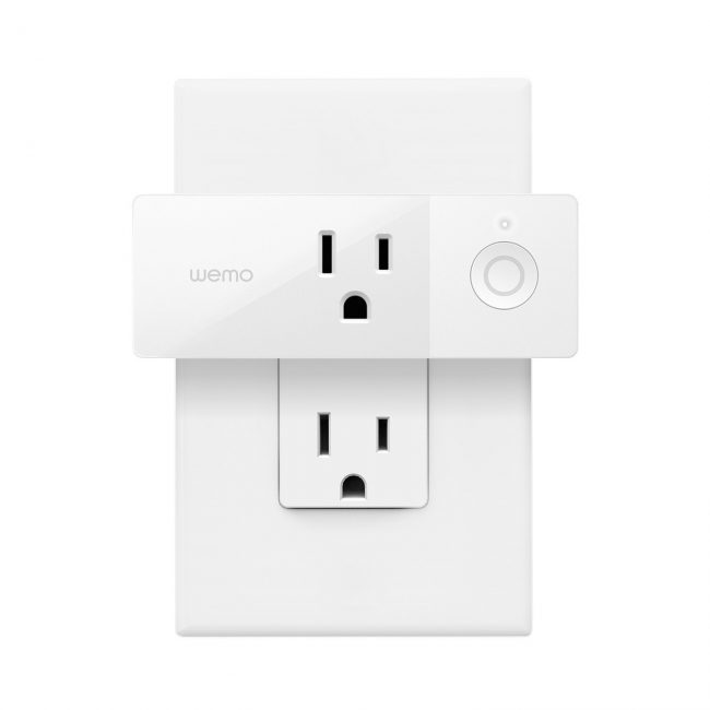 Smart Plugs: Belkin Wemo Smart Plug, smart plugs