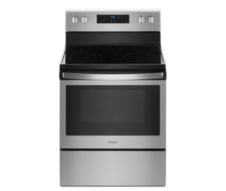 whirlpool electric range frozen bake: smart oven
